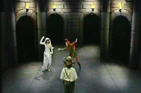Knightmare Series 2 Team 1. Martin meets Gretel and Folly.