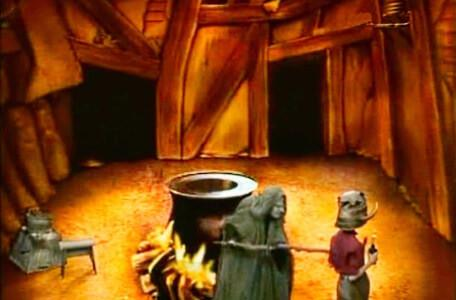 Knightmare Series 2 Team 7. Neil is harrassed by Mildread the Witch.