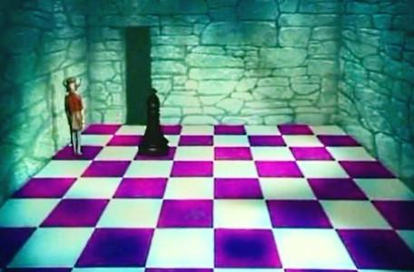 Knightmare Series 2 Team 7. Neil makes good progress on the Combat Chess board.