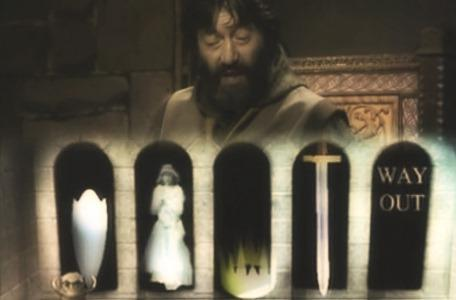 Knightmare Series 2 Team 7. Neil faces a choice of exits at the start of Level 2.