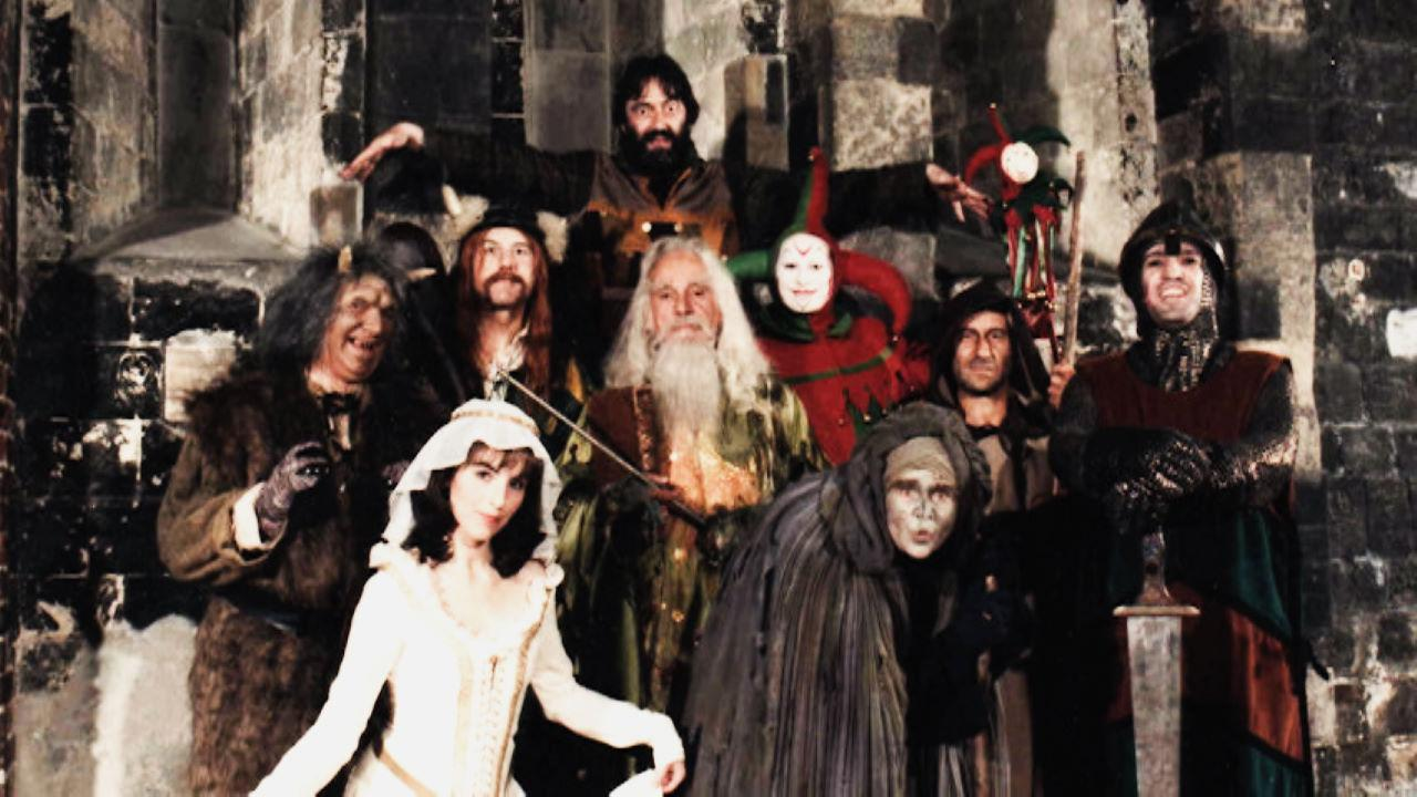 The full cast from Knightmare Series 2 (1988).