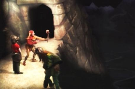 Knightmare Series 3 Team 4. Motley charges his folderol with laughter for Olaf the Viking.