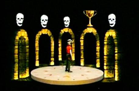Knightmare Series 3 Team 4. Leo arrives at the Spindizzy in Level 2.