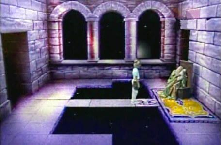 Knightmare Series 3 Team 6. Ross meets Merlin in Level 2.