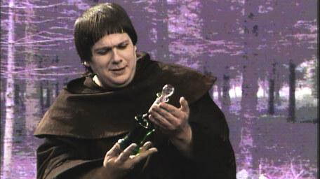 Brother Mace, a tavern monk played by Michael Cule in Series 4 of Knightmare (1990).