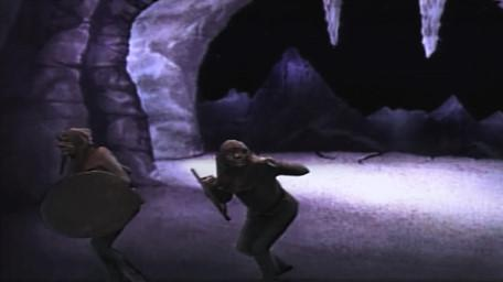 Goblins, as shown on Series 3 of Knightmare (1989).