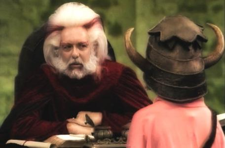 Knightmare Series 4 Team 1. Helen meets Hordriss the Confuser in Level 1.