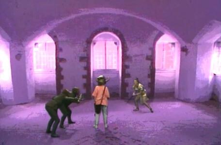 Knightmare Series 4 Team 1. Helen is rescued from goblins by Gundrada.