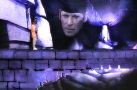 Knightmare Series 4 Team 1. Mogdred appears at the start of a long bridge in Level 3.