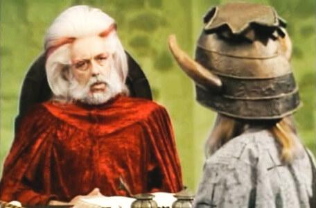 Knightmare Series 4 Quest 5. Vicky is questioned by Hordriss.