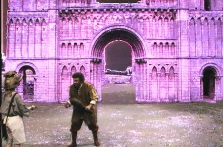 Knightmare Series 4 Quest 5. Vicky hands over a bribe when cornered by an ogre.