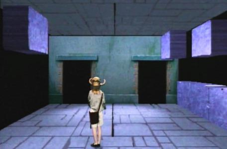 Knightmare Series 4 Quest 5. Vicky enters the Block and Tackle in Level 2.