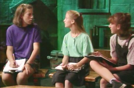 Knightmare Series 4 Quest 5. The advisors are baffled by Merlin's complex riddles.