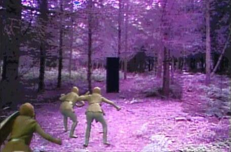 Knightmare Series 4 Quest 8. Goblins chase Giles through the forest.