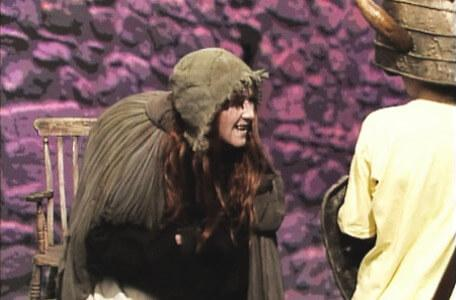 Knightmare Series 4 Quest 8. Giles meets Mistress Goody.