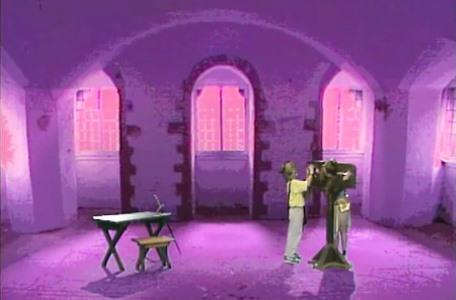 Knightmare Series 4 Quest 8. Giles releases Gundrada from the pillory in Level 2.