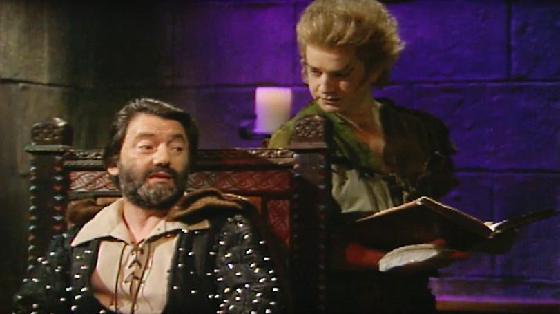Series 4 (1990). Treguard and Pickle discuss the 'Book of Quests' at the start of an episode.