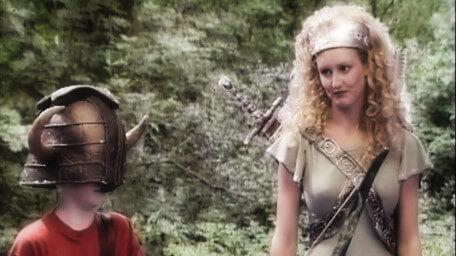 Gwendoline the Greenwarden, played by Juliet Henry-Massy in Series 5 of Knightmare (1991).
