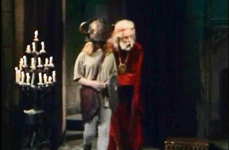 Knightmare Series 5 - End of series. Hordriss and Kelly arrive back at the antechamber.