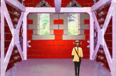 Knightmare Series 5 Team 1. Kathryn takes the descender to Level 2.