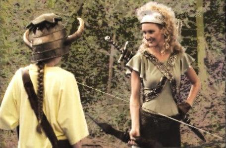 Knightmare Series 5 Team 1. Kathryn encounters Gwendoline the Greenwarden in the Greenwood.