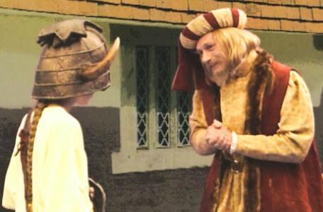 Knightmare Series 5 Team 1. Kathryn encounters a new trader, Julius Scaramonger.