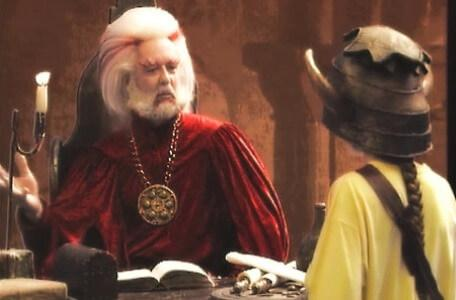 Knightmare Series 5 Team 1. Kathryn meets the newly promoted Hordriss the Confuser in Level 2.