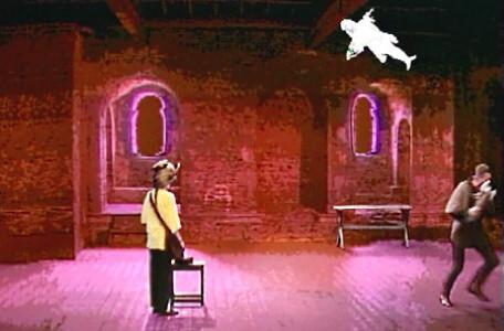 Knightmare Series 5 Team 1. Kathryn releases a pixie to scare off the goblin master.