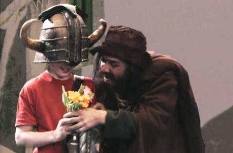 Knightmare Series 5 Team 2. Richard is harrassed by Sylvester Hands.