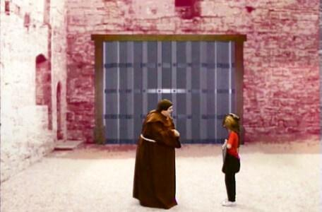 Knightmare Series 5 Team 2. Richard finds Brother Mace at the gate.