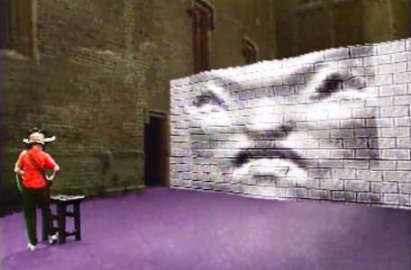 Knightmare Series 5 Team 2. Richard is approached by a blocker in Level 2.