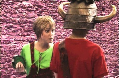 Knightmare Series 5 Team 4. Ben tries to reason with Elita.
