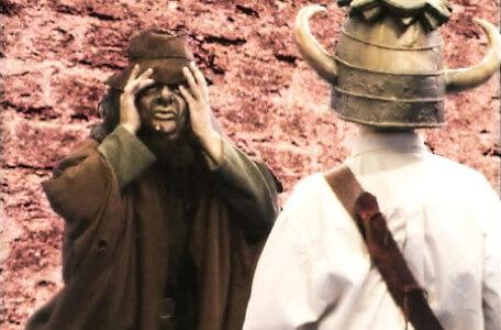 Knightmare Series 5 Team 6. Sylvester Hands is turned into a goblin.