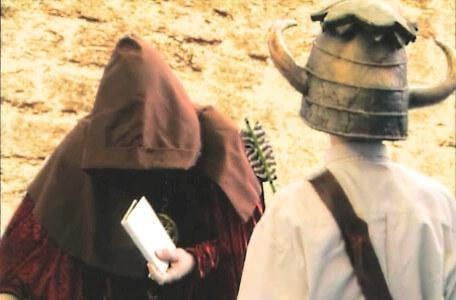 Knightmare Series 5 Team 6. Hordriss is disguised as a beggar in Level 1.
