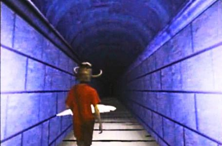 Knightmare Series 5 Team 8. Duncan walks straight into a blade in the Corridor of Blades.
