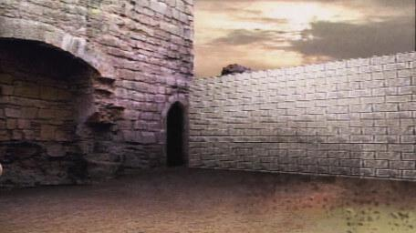 An alternative blocker room, as seen in Series 5 of Knightmare (1991).