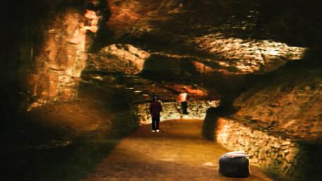 The Caverns of Gore, as seen in Series 6 of Knightmare (1992).