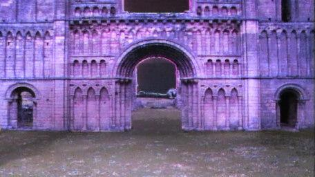 The Ruins of Dungarth, as seen in Series 4 of Knightmare (1990).