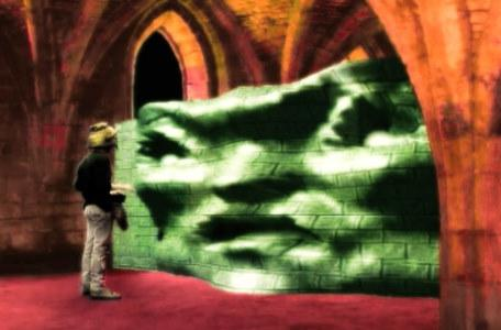 Knightmare Series 6 Team 1. Matt encounters a blocker in Level 1.