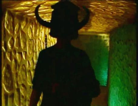 Knightmare Series 6 Team 1. Matt enters a new dwarf tunnel in Level 1.