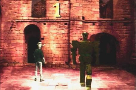 Knightmare Series 6 Team 1. Matt encounters a Dreadnort on guard in Level 2.