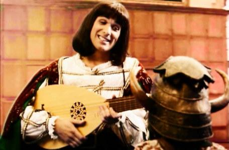 Knightmare Series 6 Team 2. Ridolfo the troubadour is on the charm offensive with Sumayya.