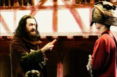 Knightmare Series 6 Team 3. Alan meets Sly Hands disguised as Coonan the Vegetarian.