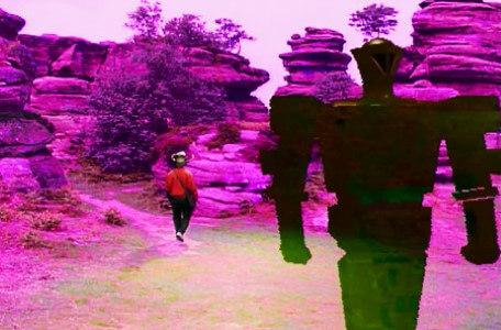 Knightmare Series 6 Team 3. The Dreadnort walks away from the Rocks of Bruin.