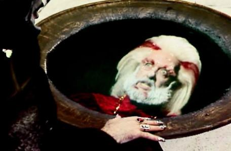 Knightmare Series 6 Team 4. A view of an agitated Hordriss in Lord Fear's pool.