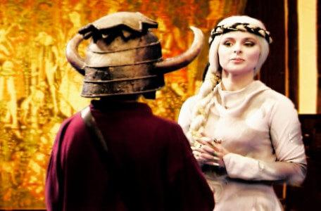 Knightmare Series 6 Team 5. Ben deals with Greystagg, Queen of the Grey Sisters.
