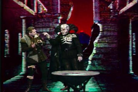 Knightmare Series 6 Team 5. Lord Fear gets angry at Skarkill in the Level 3 spyglass.