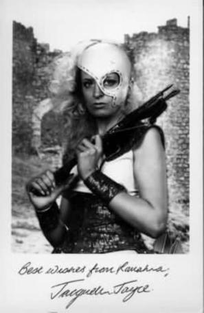 A 1993 character card of Romahna (Jacquelin Joyce).
