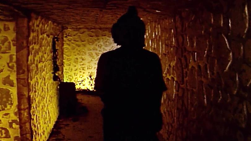 The dwarf tunnels used during Series 6 and Series 7.