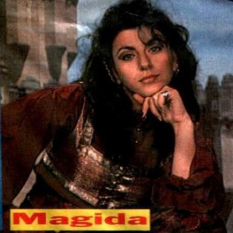 Promotional shot of Jackie Sawiris as Majida from Look In Magazine (1993).